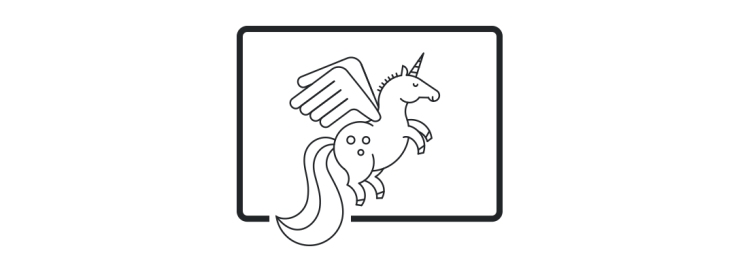 Unicornio creatividad familias
